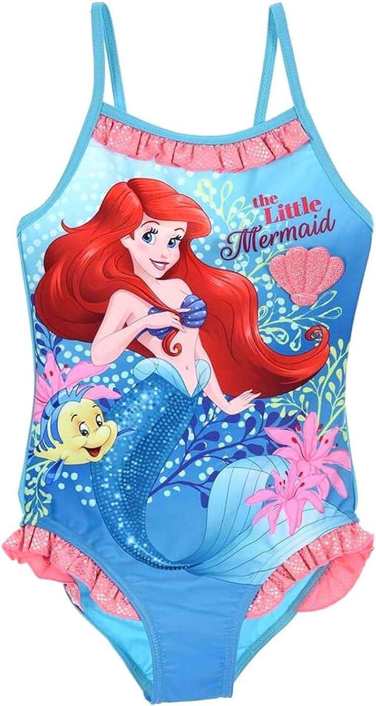 Maillot de Bain Ariel 4 Ans la Petite sir/ène Disney Bleu