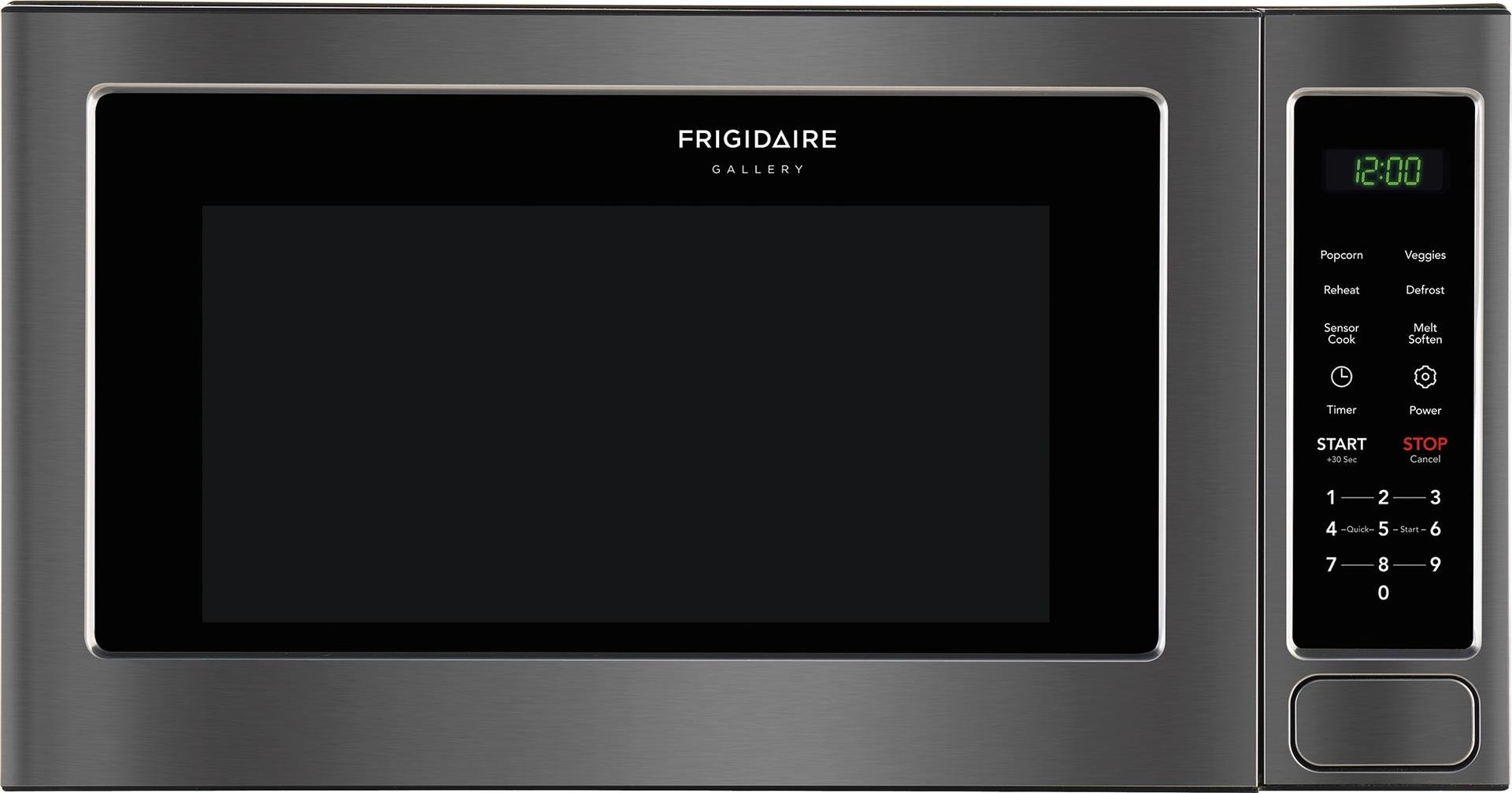 Frigidaire FGMO206NTD Gallery Series 2 cu. ft. Capacity Countertop Microwave with 1200 Cooking Watts in Black Stainless Steel