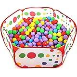 Aire de jeu pour enfants bébé piscine à balles pliable ( Balles non comprises)