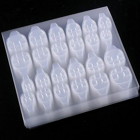 SIUSIO 50 Sheets nail Adhesive Tabs