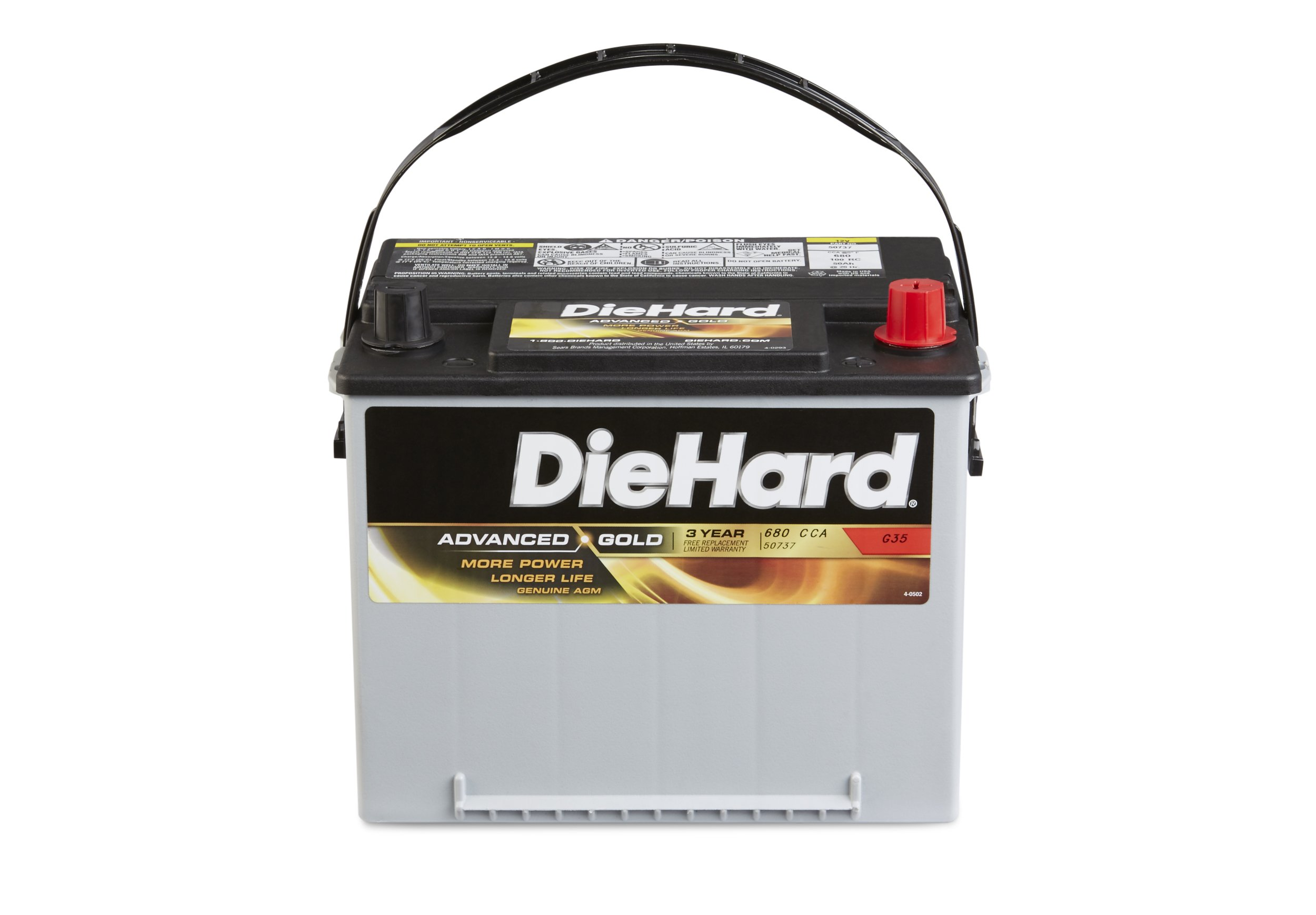 DieHard 38275 Advanced Gold AGM Battery (GP 35) by DieHard (Image #2)