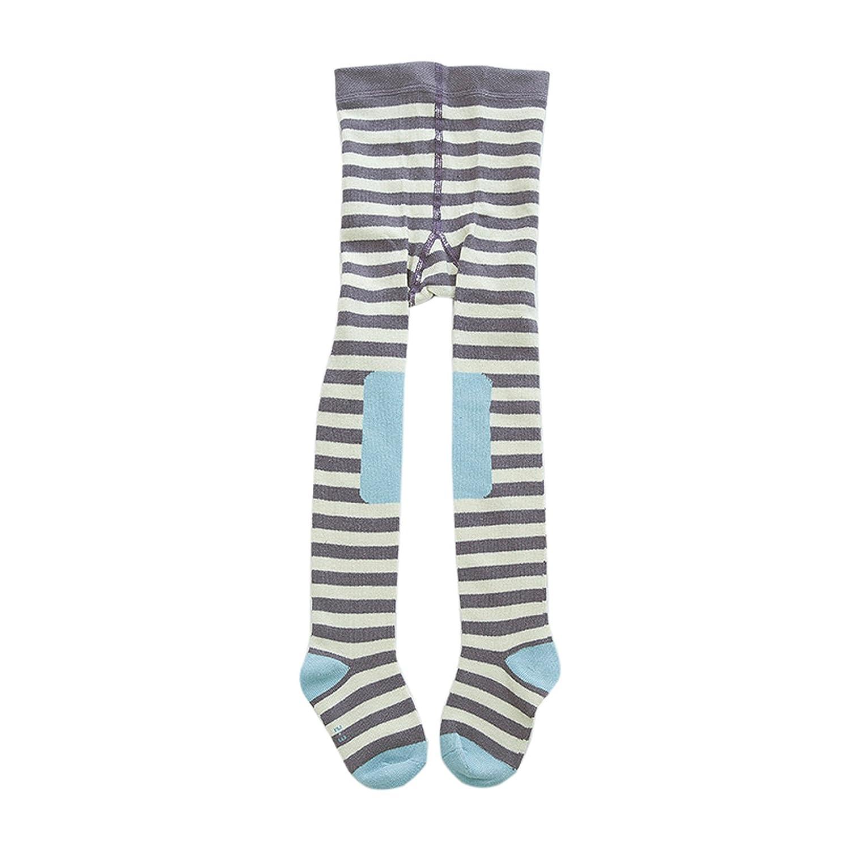 Elonglin Unisex Baby Kinder Süß Strumpfhosen Baumwolle vergrößerter Inseam Cartoon Muster Infant Leggings EL.KW0418