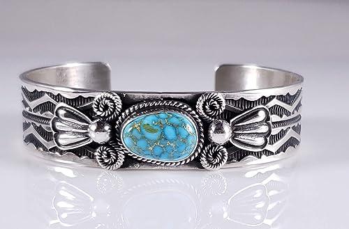 Sterling Silver Kingman Web Cuff Bracelet