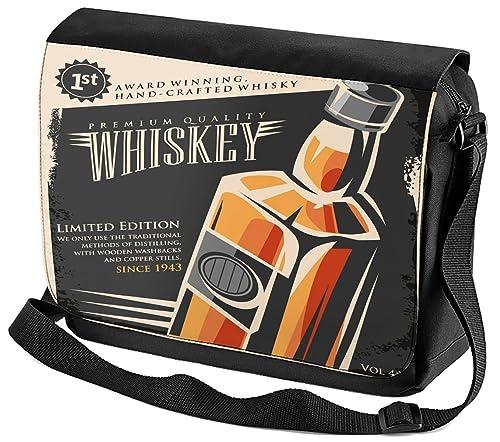 Bolso Bandolera Nostalgic Alcohol Retro Whisky impreso  Amazon.es  Zapatos  y complementos d718a32e23e