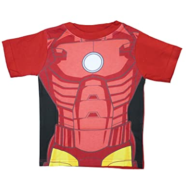 2356fc7c18717 Marvel The Avengers T-Shirt pour enfant Iron Man, Hulk, Captain America)