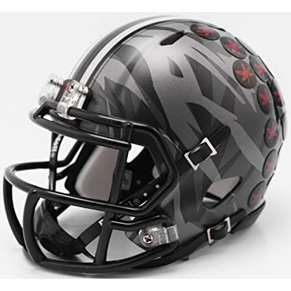 30ec0721 Ohio State Buckeyes 2018 Alternate Camo Riddell Speed Mini Football Helmet
