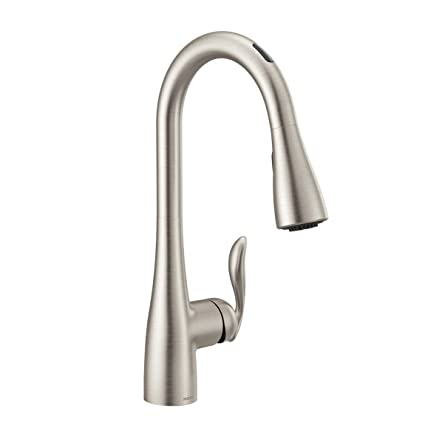 Moen 7594EVSRS Arbor U by Moen Smart Pull-down Kitchen Faucet