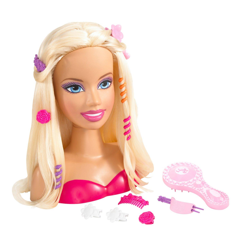Stupendous Amazon Com Barbie Styling Head Toys Amp Games Short Hairstyles Gunalazisus