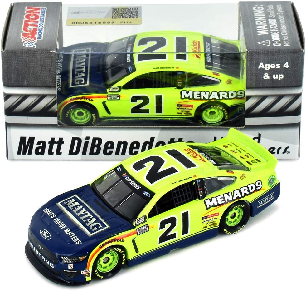 Lionel Racing Matt DiBenedetto 2020 Menards Diecast Car 1:64 Scale
