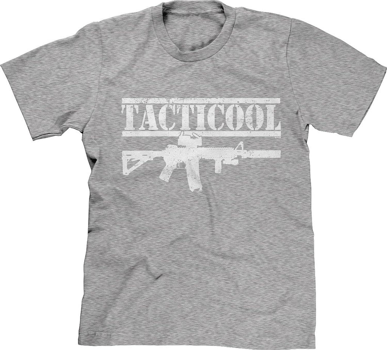 Blittzen Mens T-shirt Tacticool AR-15