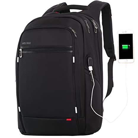 Amazon.com: OUTJOY Laptop Backpack for Men Women,Travel Backpack Large Waterproof School Backpack Anti Theft Laptops Backpack with USB Charging Port,Work ...