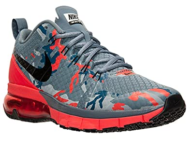Nike Men's Air Max TR180 Amp Training Shoes, Grey/Red ...