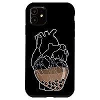 iPhone 11 Boba Tea Type Cute Kawaii Bubble Milk Tea Case