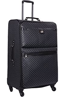 ebcfc0b91d0d Amazon.com   NEW Rioni Black Signature Small Carry On Luggage ...