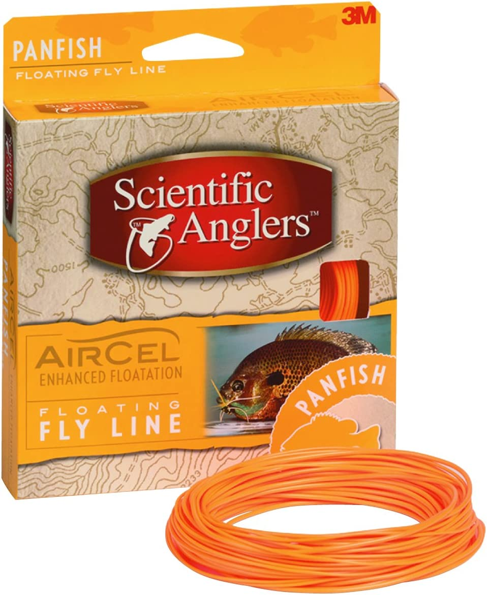 Scientific Anglers 112734 AirCel Floating Panfish Fly Line-5//6-Orange
