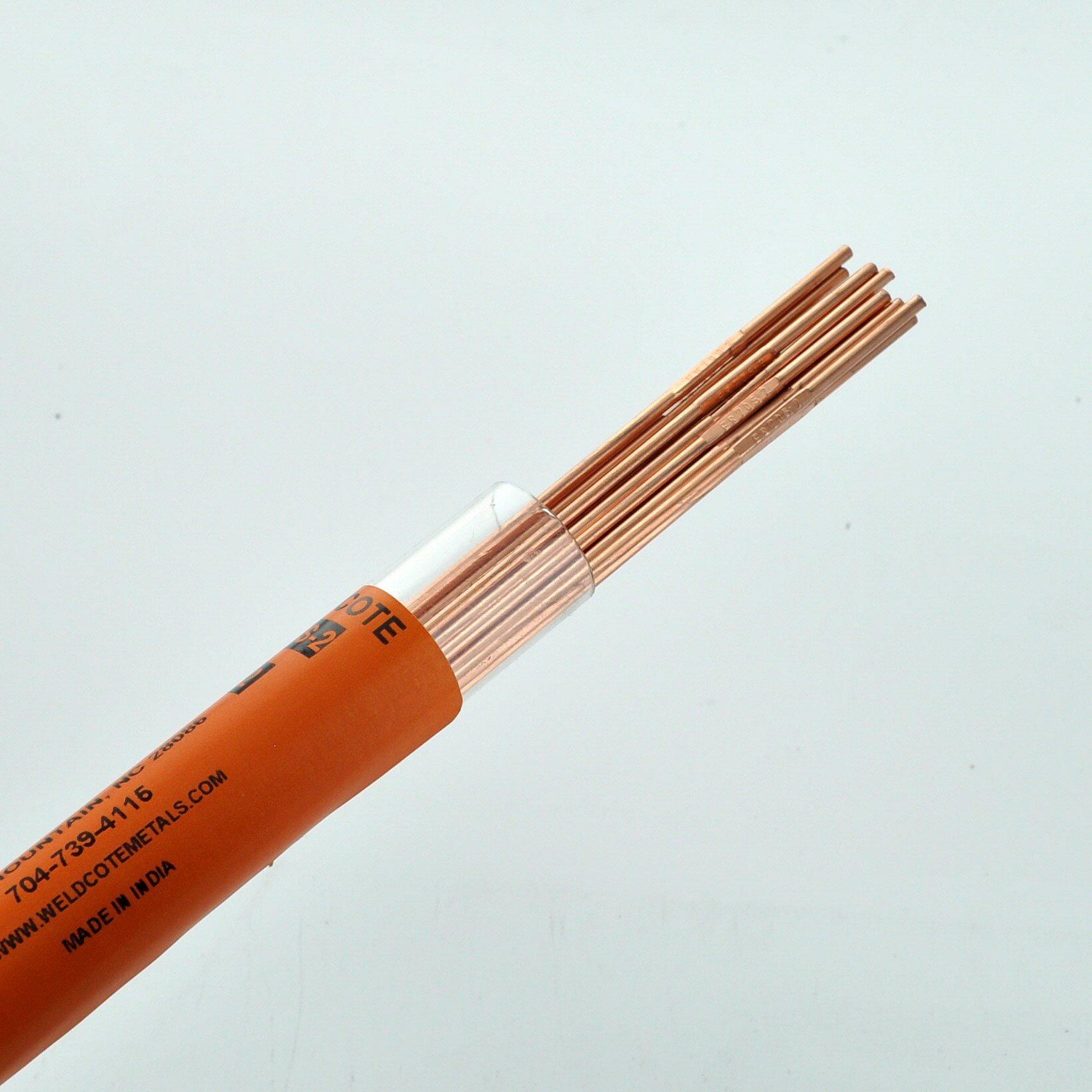 Weldcote Metals ER70S-2 1/16'' X 36'' Tig Welding Rod 1 Lb. by Weldcote Metals