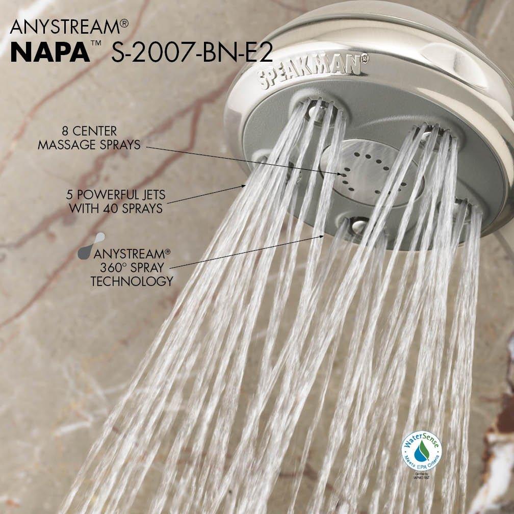 Speakman S-2007-E175 Napa Shower Head 1.75 GPM Polished Chrome