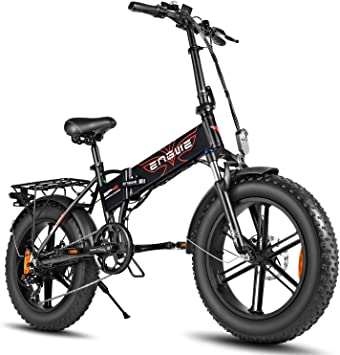 ENGWE 500W 20 inch Fat Tire Electric Bike