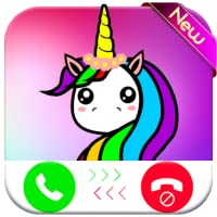 Unicorn Cartoon Horse calling you - Fake Phone Call ID 2018 - Free Prank Call