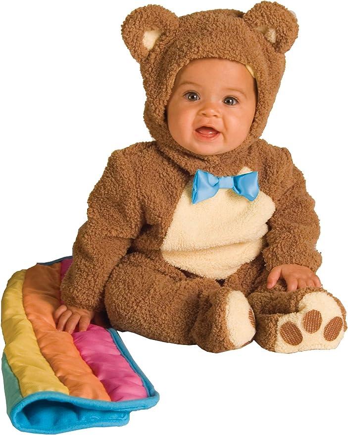 Rubies - Disfraz de Oso para niños, talla bebé 1-2 años, Marrón ...
