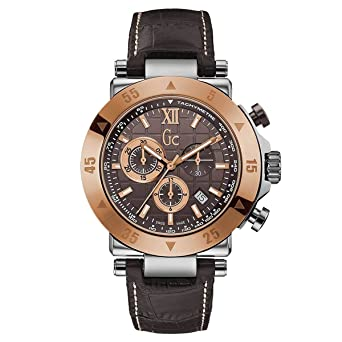 Guess X90020G4S Mens Sport Chic GC-1 Brown Dial Chronograph Watch