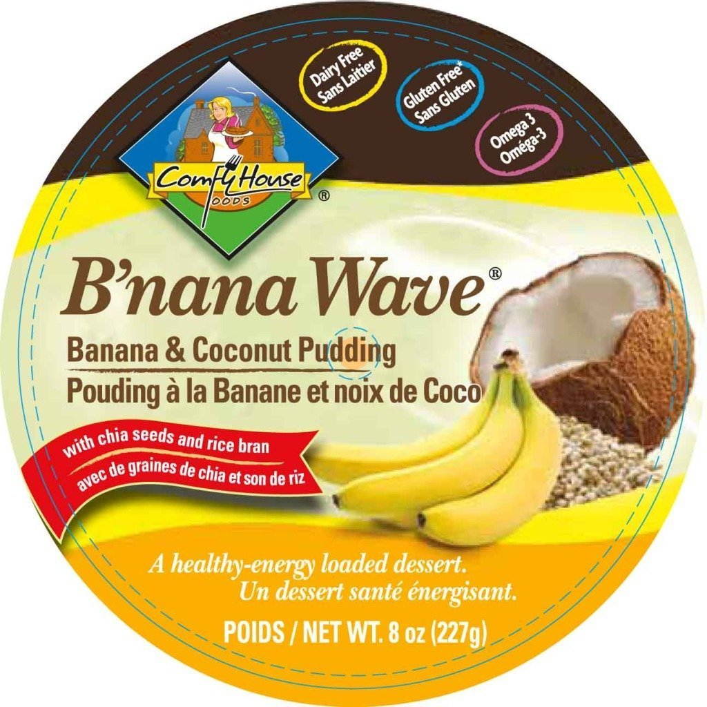 B nana Wave plátano & Coconut Vegan Pudding: Amazon.com ...