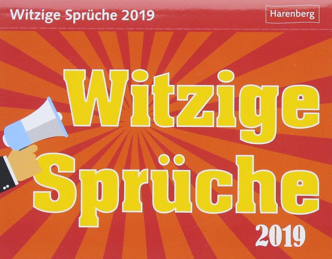 Witzige Spruche Kalender 2019 Amazon De Harenberg