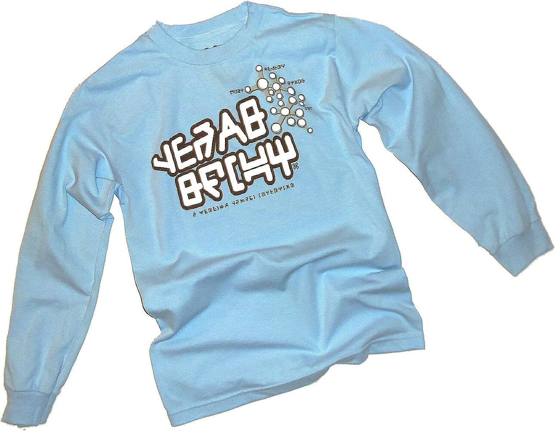 Peter Quill Gear Shift Long-Sleeve Light Blue T-Shirt - DeluxeAdultCostumes.com