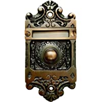 """Akatva""""Tyung"""" Brass Bell Push Oil Rubbed Brushed – Hardware Decorative Brass Bell Push or Door Bell or Push Button – Oil…"""