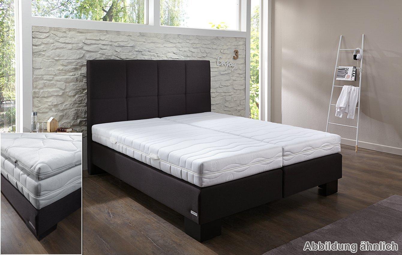 Schlaraffia Box Spring Bed For Anthracite 180 X 200 Cm Viva Plus