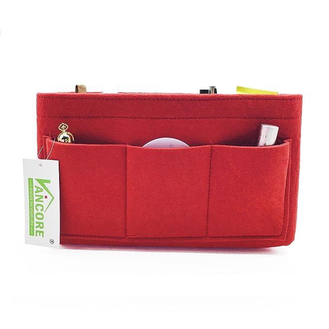 VANCORE Insertar Organizador de bolso Para Mujer Bolso Organizador de Viaje Bolsillo para Cosmeticos, 12 bolsillos - grande: Amazon.es: Equipaje