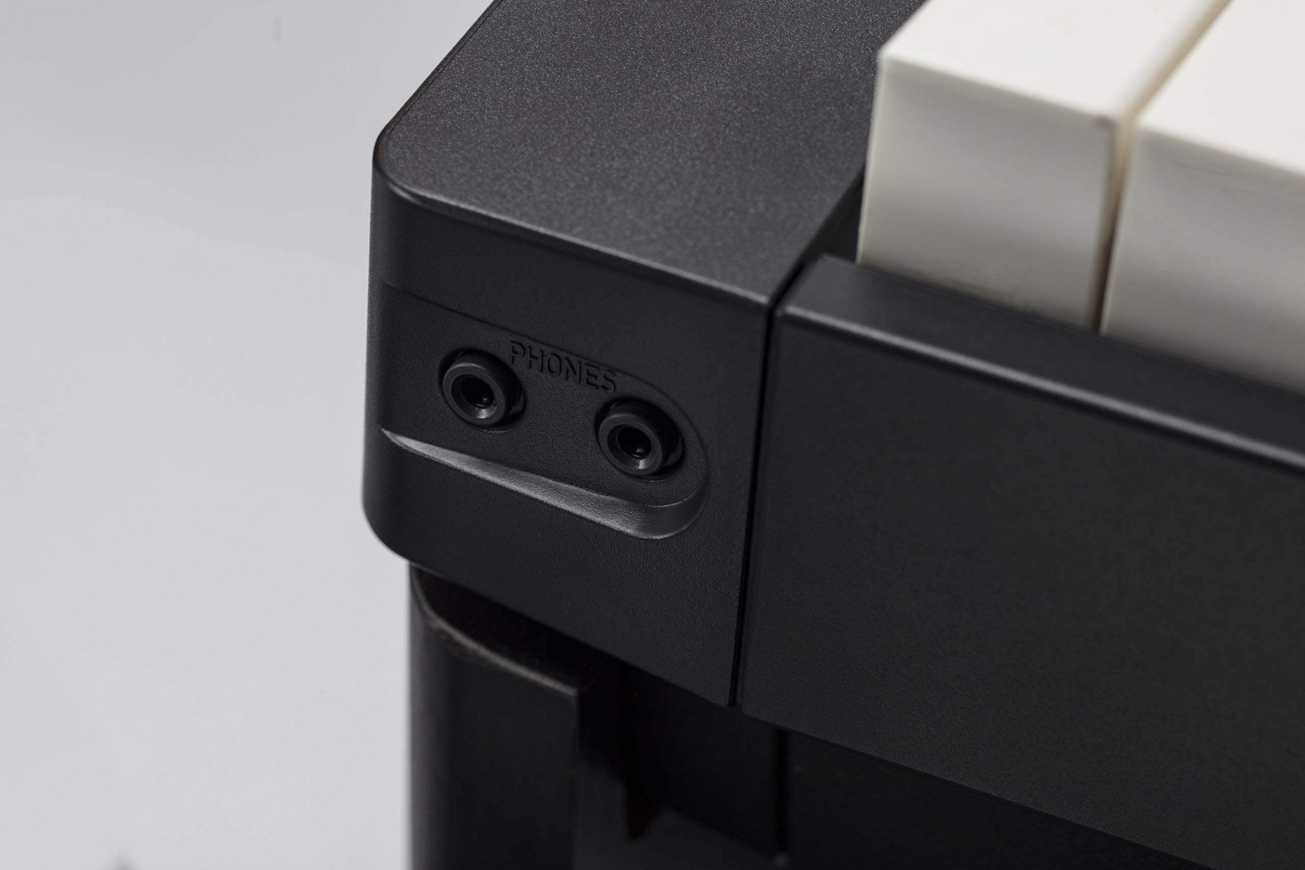 Casio Privia PX-160BK 88-Key Full Size Digital Piano with Power Supply, Black (Renewed) by Casio (Image #4)