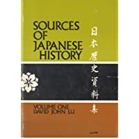 Sources of Japanese History: v. 1