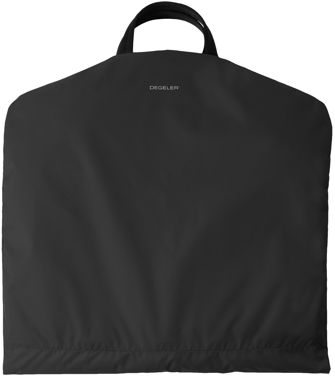 Travel Garment Bag with Titanium Hanger - Crafted from Ultralight, Water-Resistant High End Velocity Nylon Fabrics To Create An Effortless 6 Pocket Luggage Carrier (Black) by DEGELER