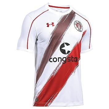 Under Armour Camiseta del Equipo de Fútbol FC St. Pauli para Hombre, Hombre,