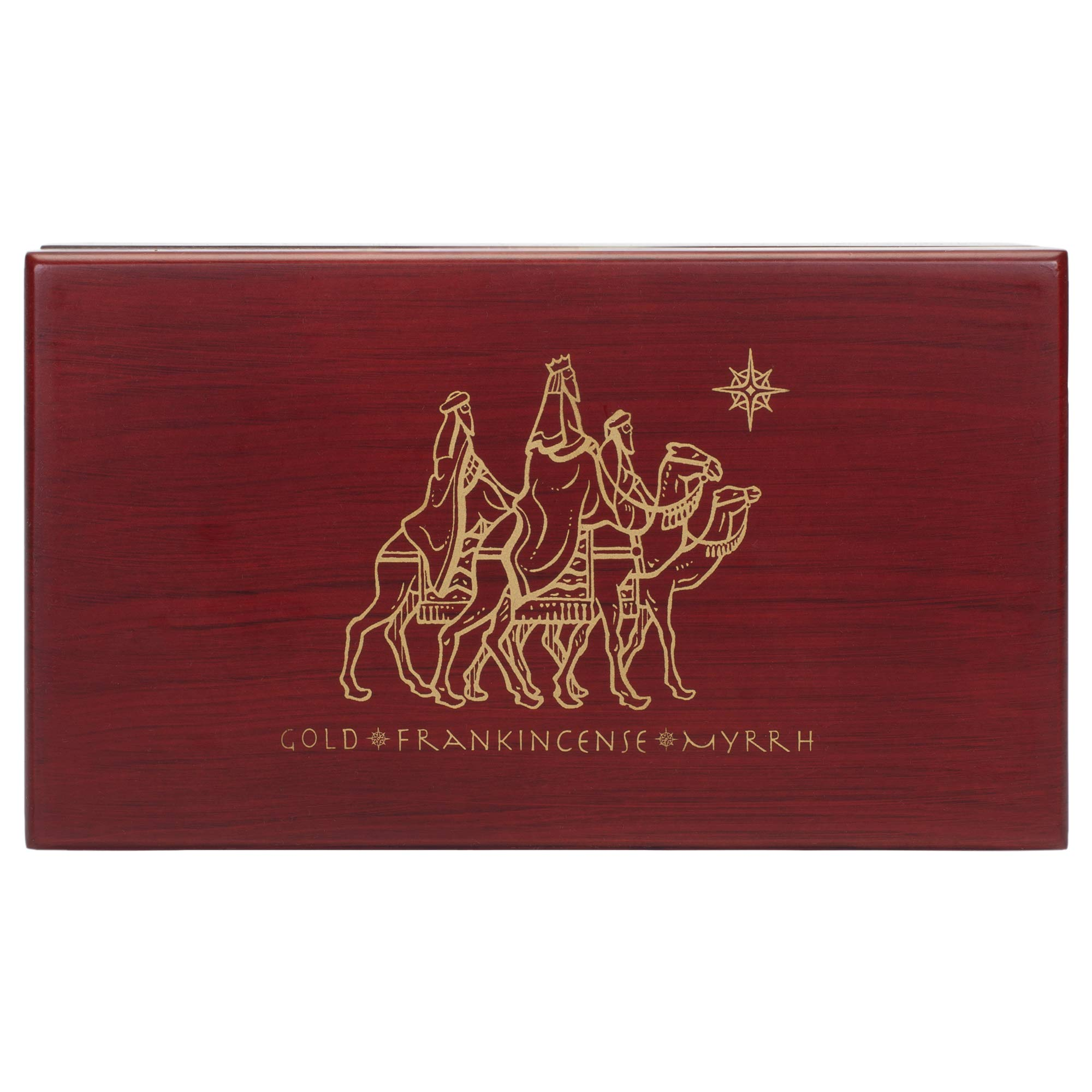 Three Kings Gifts Gold Frankincense and Myrrh Standard Single Box Set, 6 3/4 by 3 3/4 by 2-Inch by THREE KINGS GIFTS THE ORIGINAL GIFTS OFCHRISTMAS (Image #4)