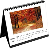 Clixicle Customized 2018 Desk Calendar Rectangle Horizontal Dates White, 6in x 8in