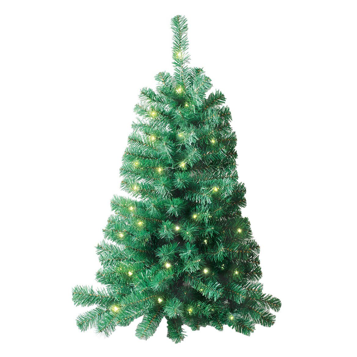 Ideaworks Wall Mounted Christmas Tree Lighted And 3 Feet Tall