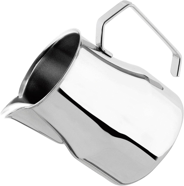 Motta Stainless Steel Europa Professional Milk Pitcher/Jug, 17 Fluid Ounce