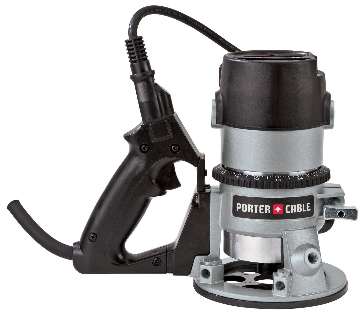 PORTER-CABLE 691 11 Amp 1-3/4-Horsepower D-Handle Router with 1/4-Inch and 1/2-Inch Collets
