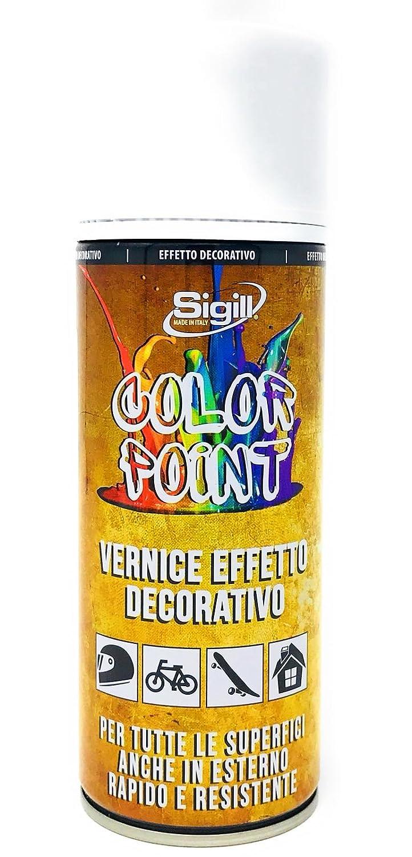 Sigill Color Point Vernice effetto decorativo per tutte le superfici anche in esterno (Oro Ricco/Antico 04504) PIGAL s.r.l.