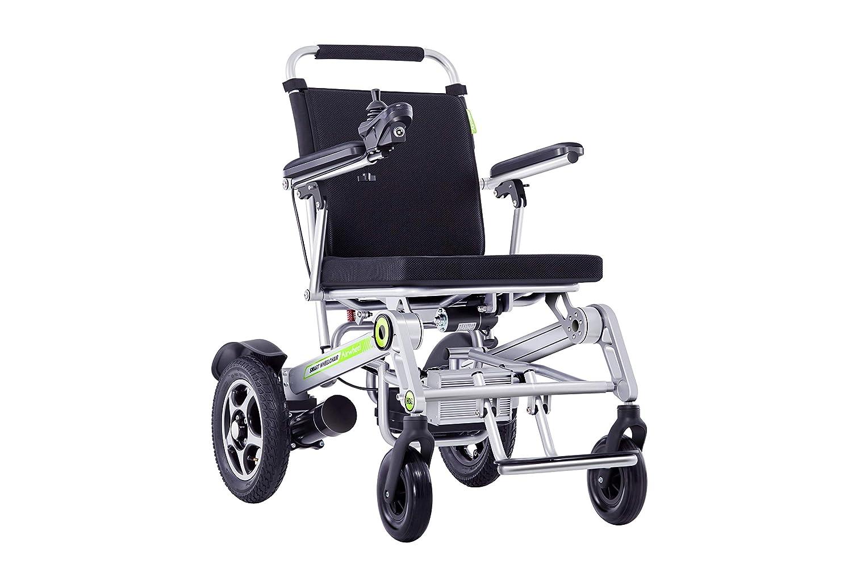 silla eléctrica plegable puede ser usada como silla de ruedas manual