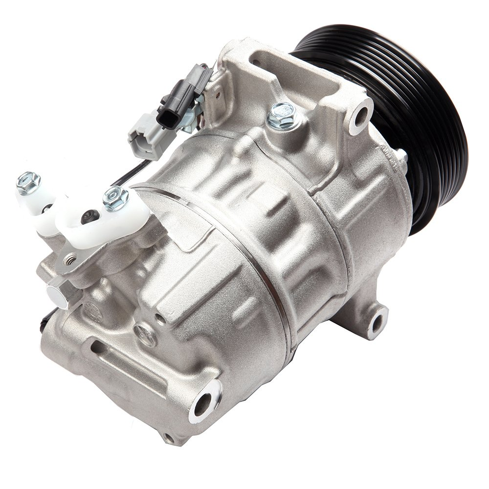 AC Compressor A//C Clutch Kit fit Nissan Tsuru 1.6L fit Sentra 1.8L 2013-2015 104071-5206-1015108371 SCITOO Auto Repair Compressor Assembly CO 29072C