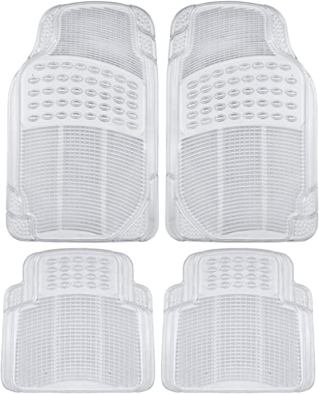 UKB4C Heavy Duty Rubber Car Boot Liner Mat for Countryman 10-On