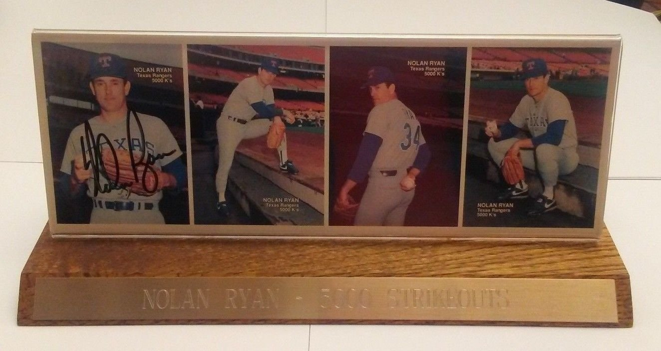 Psa Authenticated Nolan Ryan 1990 Mothers Cookies Autographed Cards