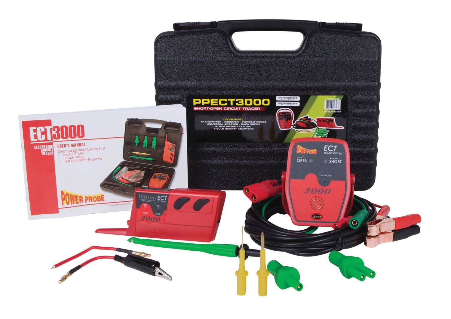 Power Probe Pwp Ppect3000 Ect3000 Short Open Breaker Finder Circuit Locator Accessory Sperry Instruments Electrical Tester Automotive