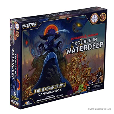 WizKids D&D Dice Masters: Trouble in Waterdeep Campaign Box: Toys & Games