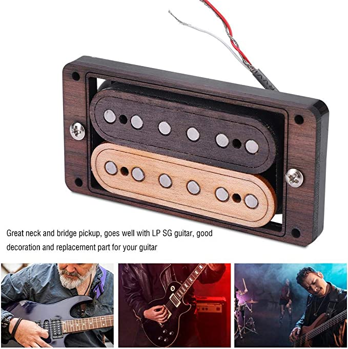 3 stücke Metall Single Coil Pickup Montagering für ST Style Gitarre