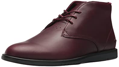 Lacoste Men's Laccord Chukka 417 1 Oxford, Burgundy, ...