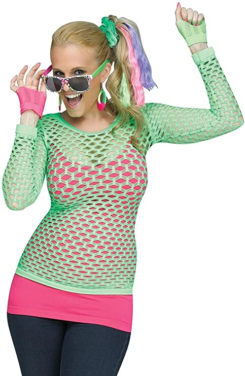 80s Costumes, Outfit Ideas- Girls and Guys Fun World Rockin 80s Pop Diva Costume Kit $8.41 AT vintagedancer.com